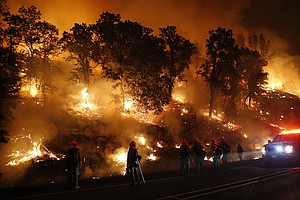 Tease photo for At Least 400 Homes Destroyed By New Northern California Fire