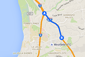 Portion Of Interstate 805 North Scheduled To Be Closed Ov...