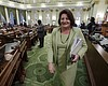 Assembly Speaker Toni Atkins Discusses Challenging Session, Terming...