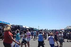 Tease photo for Foodtrucks Bring Unique Flavors To Del Mar Fairgounds
