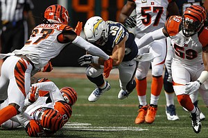 Tease photo for Balanced Bengals Offense Sets Up 24-19 Win Over Chargers