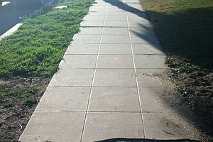 Tease photo for San Diego City Staff To Determine Timeline For Fixing Sidewalks