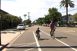 Tease photo for Coronado Puts The Brakes On All Future Bike Lanes After Resident Complaints