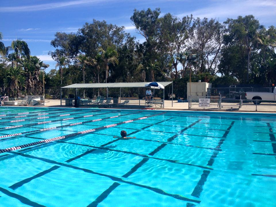 Balboa park 39 s bud kearns pool now open for swimming kpbs - River park swimming pool schedule ...