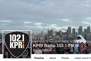 Tease photo for San Diego Rock Station KPRI Sold To Christian Music Broadcaster