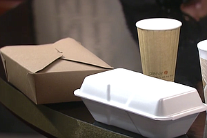 Tease photo for Proposal To Ban Styrofoam Food Containers In Encinitas Heats Up