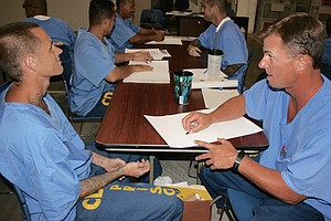 Tease photo for Project PAINT Creates New Sense Of Self For Donovan State Prison Inmates