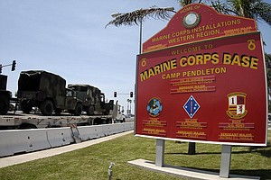 Tease photo for Officials Identify Marine Found Dead At Camp Pendleton