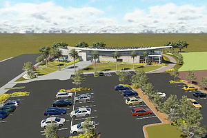 Tease photo for Construction Begins For New Skyline Hills Library
