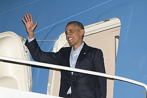 Tease photo for President Obama Scheduled To Leave San Diego Monday Afternoon