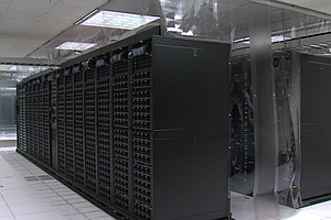 Tease photo for New Supercomputer Comes Online At UC San Diego