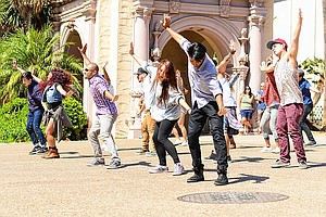 Tease photo for VIDEO: Flash Mob Proposal In Balboa Park