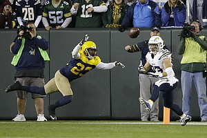 Tease photo for Packers Hold Off Pass-Happy Chargers For 27-20 Win