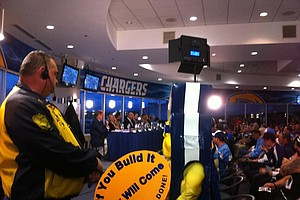 Tease photo for NFL Announces San Diego Hearing On Chargers' Plan To Move