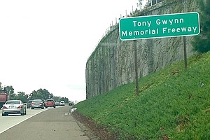 Stretch Of Interstate 15 Designated As Tony Gwynn Memoria...