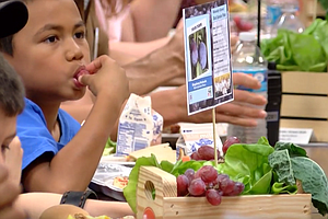 Tease photo for San Diego Unified Expands Farm To School Food Program