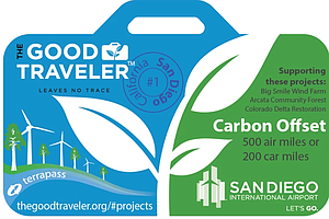 San Diegans Offset Air Travel With Carbon Credits