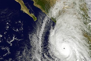 Tease photo for San Diego Braces For Hurricane Patricia