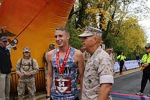 Tease photo for West Point Grad Wins Marine Corps Marathon In First Try