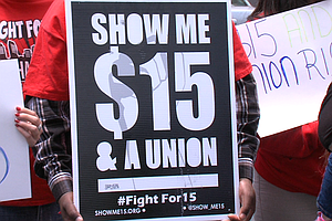 San Diego Workers Join Nationwide Minimum Wage Protest