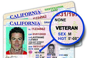 Tease photo for California To Offer Special Driver Licenses For Veterans