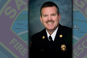Tease photo for Brian Fennessy Becomes San Diego's 17th Fire Chief