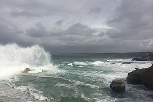 Winter Storm Causes Dicey Conditions In San Diego County