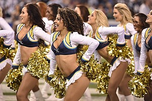 Chargers Cheerleaders Get Pay Raise For Last Game Of Season