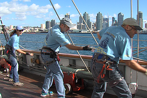San Diego Classes Revive Dying Art Of Tall Ship Sailing