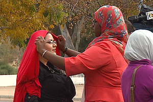San Diego Rally Shows Support For Muslim Women