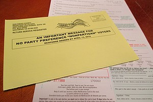 Nonpartisan Voters Who Vote By Mail Must Request Ballot