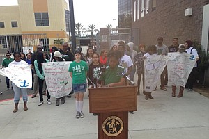 In Wake Of Brawl, Lincoln High Students Gather To Tout Ac...