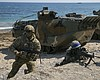 San Diego-Based Troops Practice Amphibious Assault In South Korea