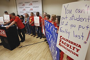 Cal State And Faculty Union Hope For Deal This Week, Offi...