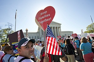 Justices Seem Divided Over Obama Immigration Actions