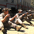 The Pentagon decided in December to admit women for the first time to front-line ground combat roles. Two women stationed at Camp Pendleton shared with KPBS why they signed up for war zone jobs.
