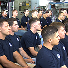 More than three dozen San Diego military veterans graduated Friday from Workshops for Warriors, a nonprofit that for free trains and certifies veterans in jobs such as welding, machining and fabrication.