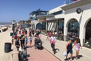 1,700 Feet Of Mission Beach Seawall Reopens
