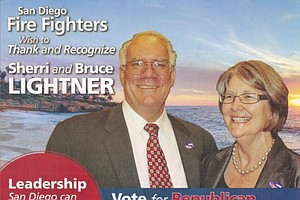 #ShowUsYourMailers: San Diego Firefighters Spread The Love In City Council Race