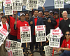 San Diego Councilman Alvarez Rallies With Bus Drivers On Strike