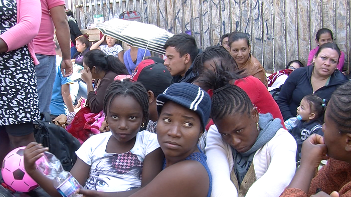 Haitian, African Migrants Stream Into Mexico