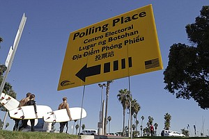 Report: Half Of Registered Voters In San Diego County Wil...