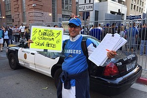 Chargers Submit Signatures To Qualify Stadium Measure For November Ballot