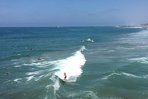High Surf, Strong Rip Currents Expected Along San Diego C...