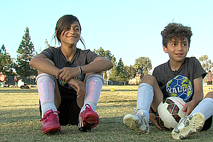 Soccer And Tutoring Program Helps Refugees Feel Welcome
