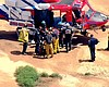 Swimmer Rescued By Helicopter At Sunset Cliffs