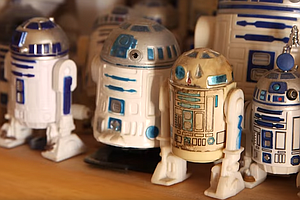 'Star Wars' Collector Shows Smaller Side Of Comic-Con