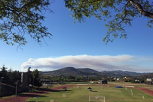 Forest Service, Cal Fire Assist Camp Pendleton In Battling Fire