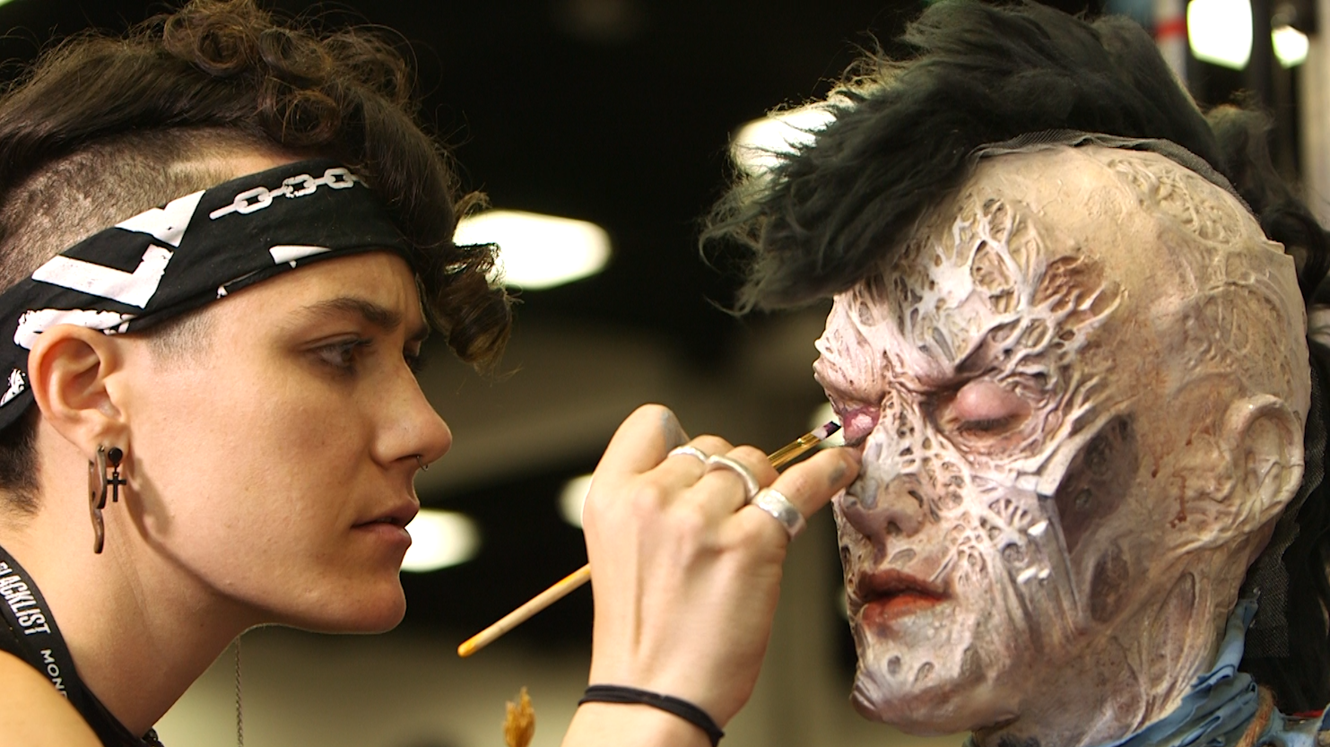 Makeup Artists Bring Characters To Life