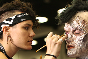 Makeup Artists Bring Characters To Life At San Diego Comi...